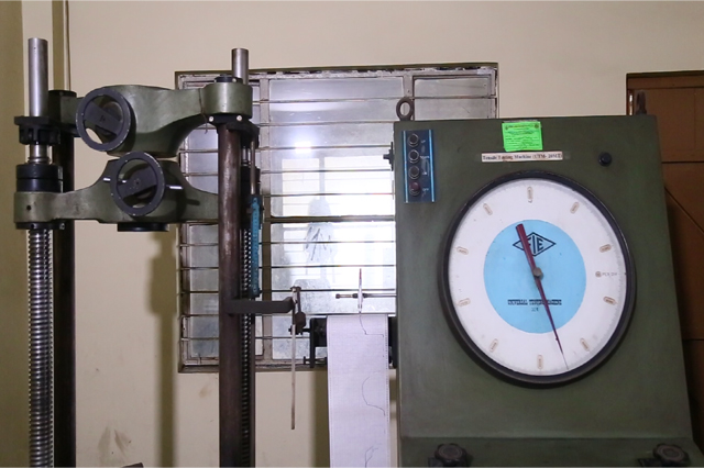 mig wire testing, electrode testing, tensile testing mig wire