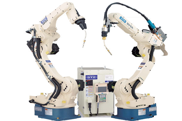 Arc Welding Robots, welding robots, OTC Daihen Corporation, JAPAN